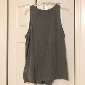 High Neck Relaxed Fit Tank